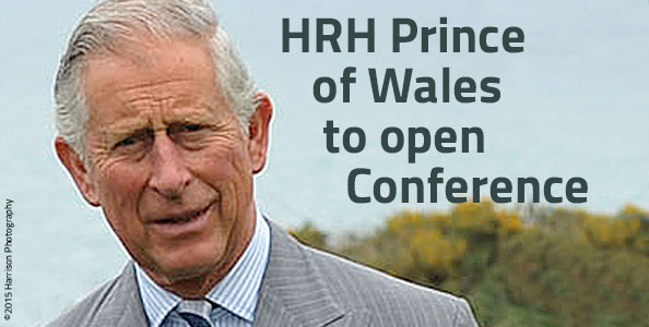 HRH Price of Wales opens Conference