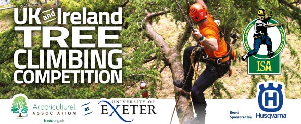 Your invitation to join us for the UK & Ireland Tree Climbing Competition