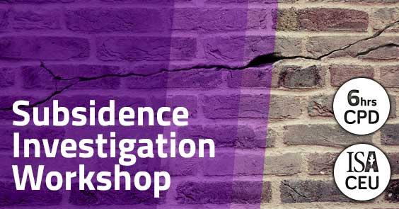 Subsidence Investigation Workshop