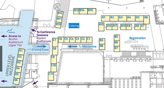 Amenity Conference 2017 Exhibitor Map