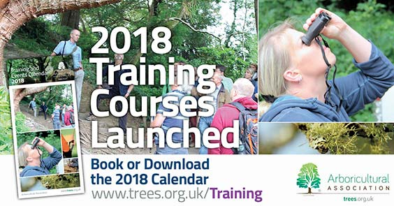 2018 Training Courses Now Launched