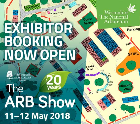 ARB Show 2018 Exhibitor Booking Launched