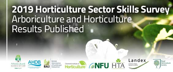 2019 Horticulture Sector Skills Survey - Arboriculture and Horticulture Results Published
