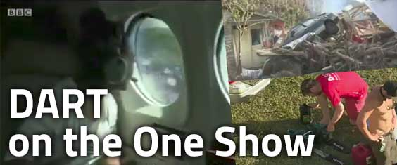 Disaster Arborist Response Team feature on the One Show