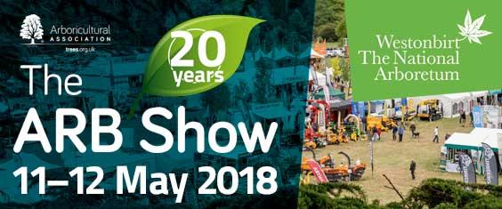 ARB Show 2018 – 11-12 May 2108 – Westonbirt Arboretum