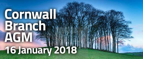 Cornwall Branch AGM - 16 January 2018