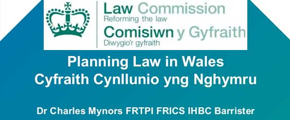 Proposed Changes to Planning Law in Wales - Including Trees