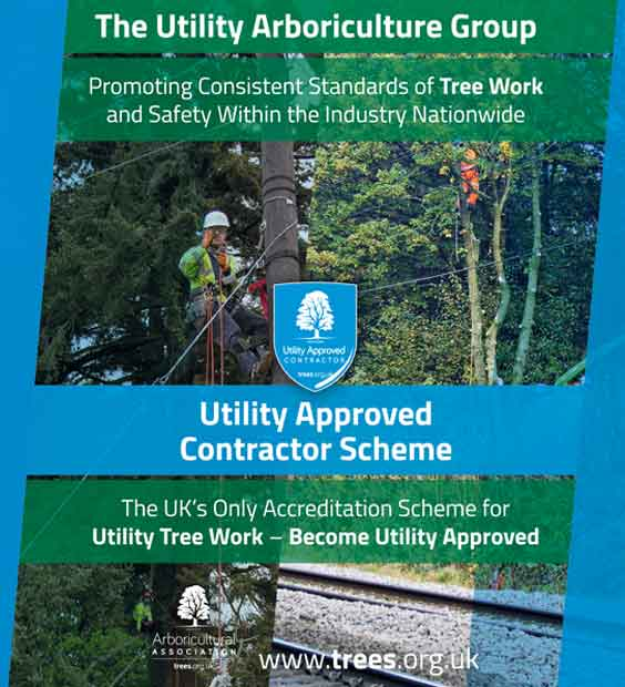 The Utility Arboriculture Group and Utility Approved Contractor Scheme