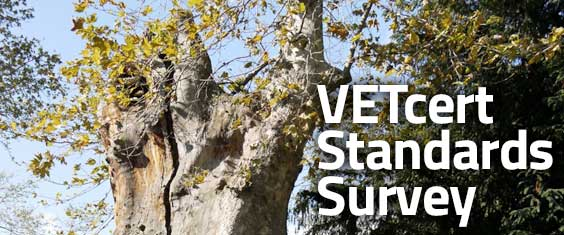VETcert Standards Survey
