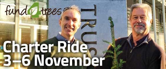 Fund4Trees Charter Ride 3-6 November