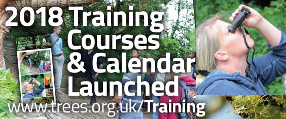 The 2018 Training Calendar has now been launched