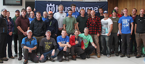 UK & Ireland Tree Climbing Competition 2017 Results