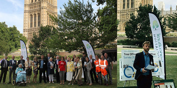 Arboricultural Assocition's clarion call to the All-Party Parliamentary Gardening and Horticulture Group (APPGHG)