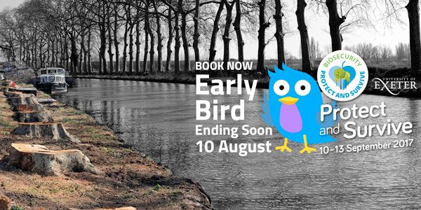 Conference Early Bird ends 10 August