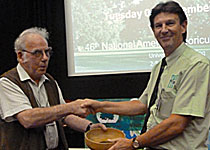 Henry Girling Award for Best Trade Exhibition was awarded to Dave Dawson of Treelife