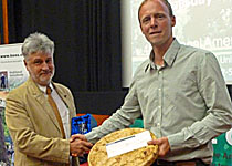 Best 2011 Student for the AA Technician's Certificate was awarded to Mark Franklin