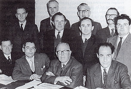 The founding fathers of the AA in 1964