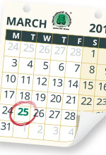 New date for tree planting 25 March 2014