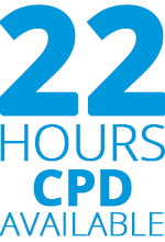 Up to 22 hours CPD available