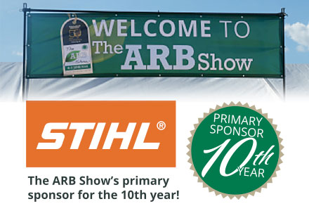 A big welcome to the ARB Show 2014 with primary sponser STIHL for the 10th year