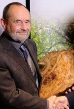 John Harraway, last year's recipient of the Arboricultural Association Award