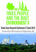 Trees, People and the Built Environment II Conference booking now open