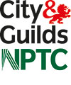 City & Guilds and NPTC logos