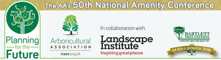 The AA's 50th National Amenity Conference – 4-7 September 2016
