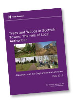 Forest Research provide snapshot of the current urban tree situation in Scotland
