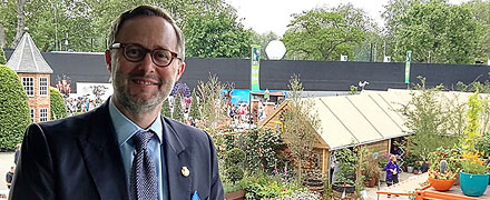 Chairman's report of the RHS Hampton Court Flower Show
