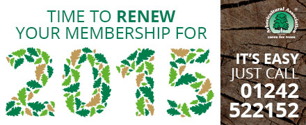 Membership renwal for 2015 now due!