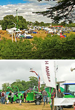 The ARB Show 2013 from above and exhibitors