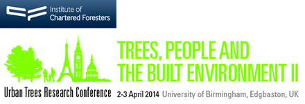 ICF National Conference 2014 hosts Trees, People and the Built Environment