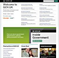 The new Gov.uk website