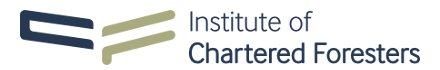 The Institute of Charetered Foresters' Logo
