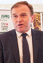 George Eustice, Minister for Farming, Food and Marine Environment at the National Land Based College launch, House of Lords