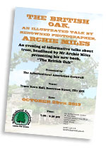 The British Oak & Other Tree News Flyer