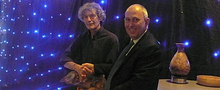 Keith Sacre accepting 2014 AA Award