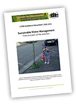 Sustainable water management: trees are part of the solution