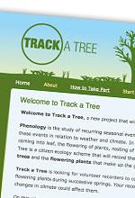 Track a Tree website