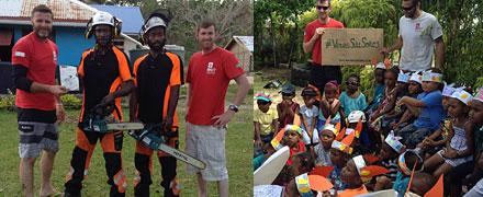 DART complete Vanuatu operations