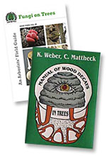 The selected books on offer at 20% discount - Fungi on Trees - An Arborists' Field Guide and Manual of Decays in Trees